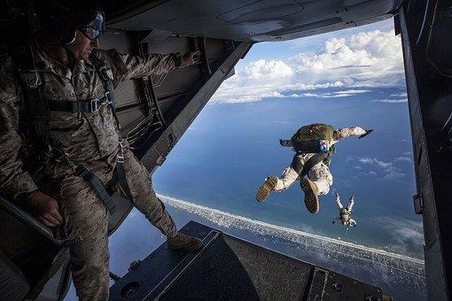 parachuteflying